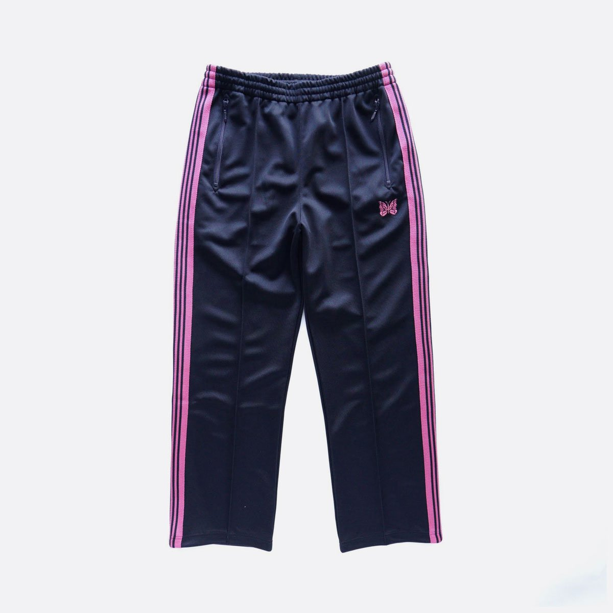 NEEDLES  TRACK PANT - POLY SMOOTH  (Navy)