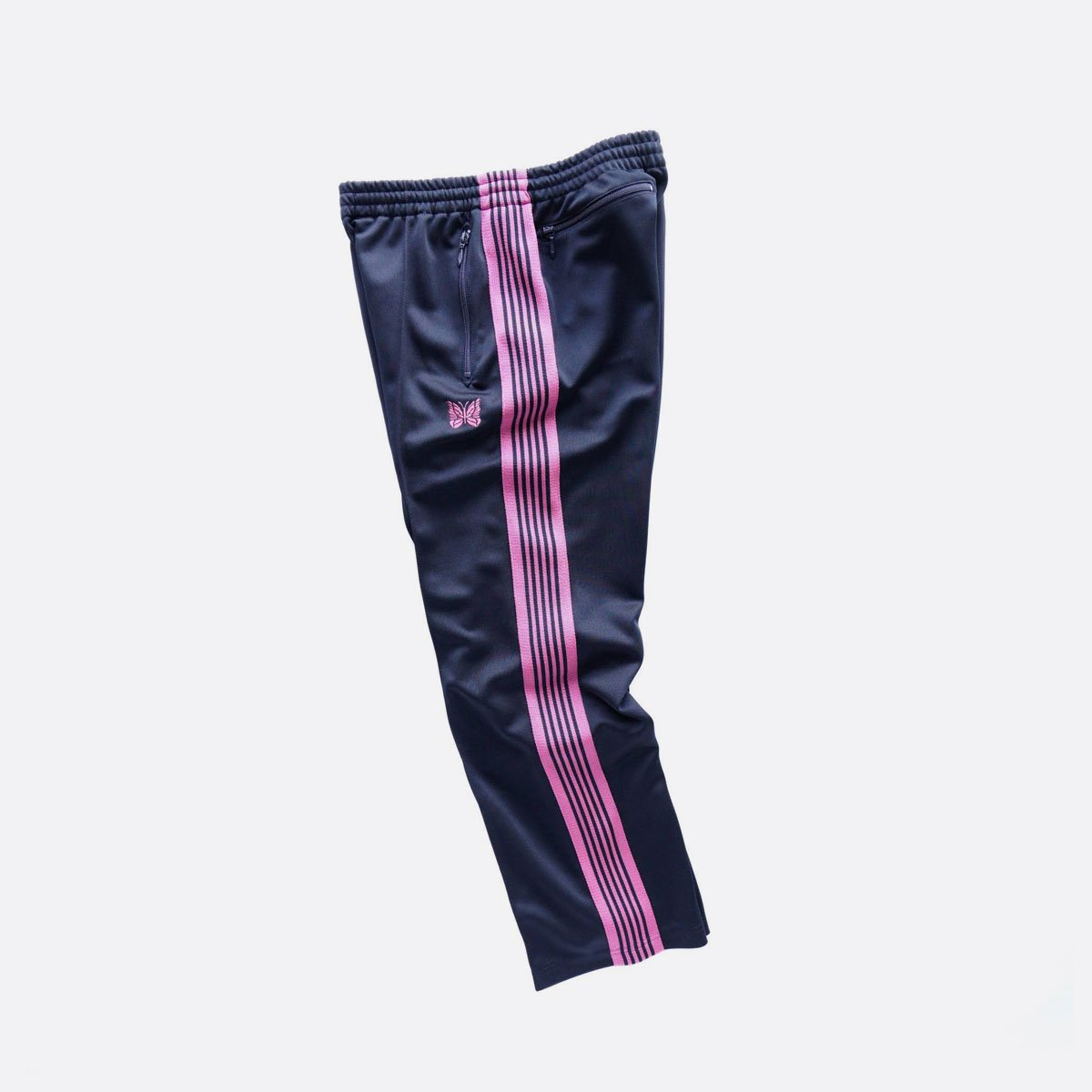 NEEDLES  TRACK PANT - POLY SMOOTH  (Navy)3