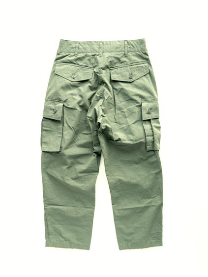 Engineered Garments  FA PANT - COTTON RIPSTOP  (Olive)3