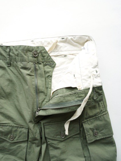 Engineered Garments  FA PANT - COTTON RIPSTOP  (Olive)4