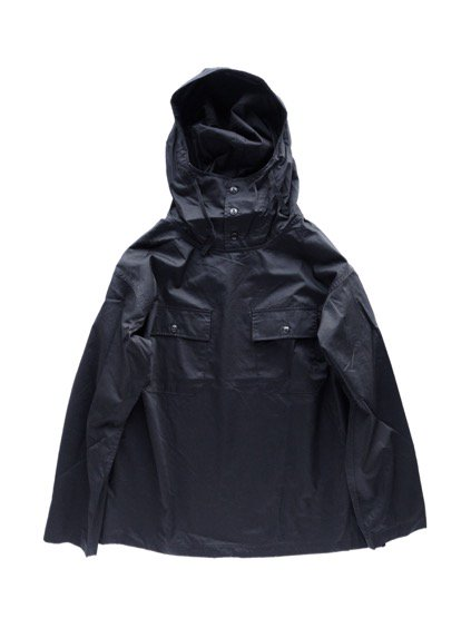 Engineered Garments CAGOULE SHIRT - COTTON NANO TWILL  (Blalck)