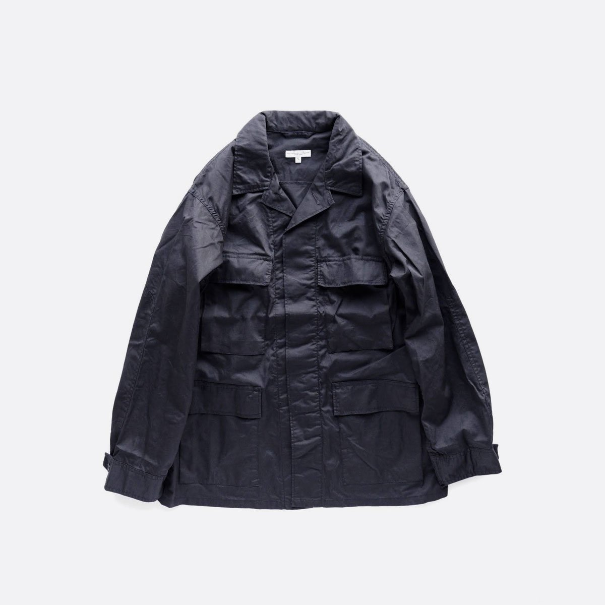 Engineered Garments BDU JACKET - HIGH COUNT TWILL  (Dk.Navy)