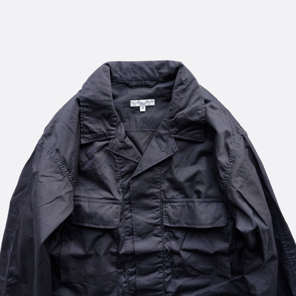 Engineered Garments BDU JACKET - HIGH COUNT TWILL  (Dk.Navy)4