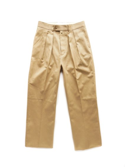 NEAT COTTON PIQUE WIDE  (BEIGE)