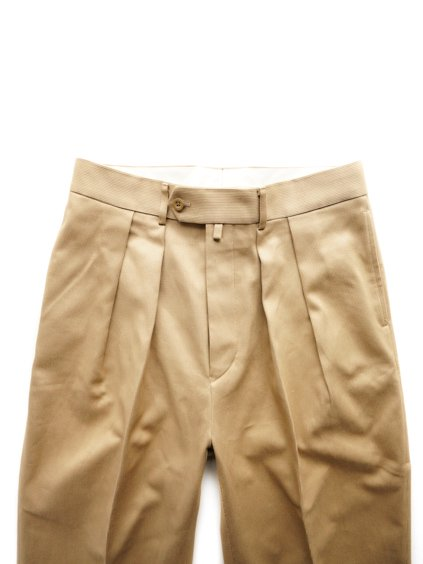 NEAT COTTON PIQUE WIDE  (BEIGE)2