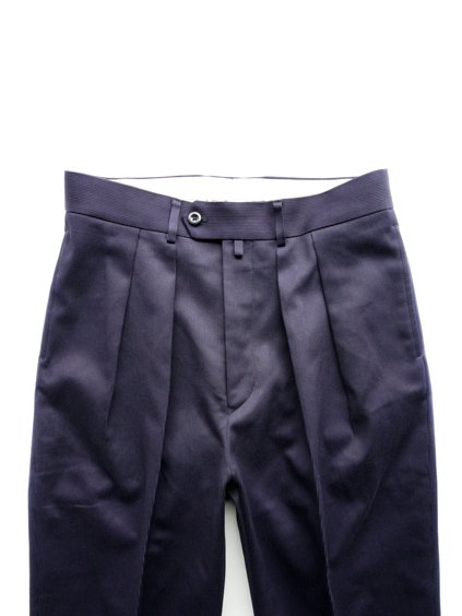 NEAT COTTON PIQUE WIDE  (NAVY)2