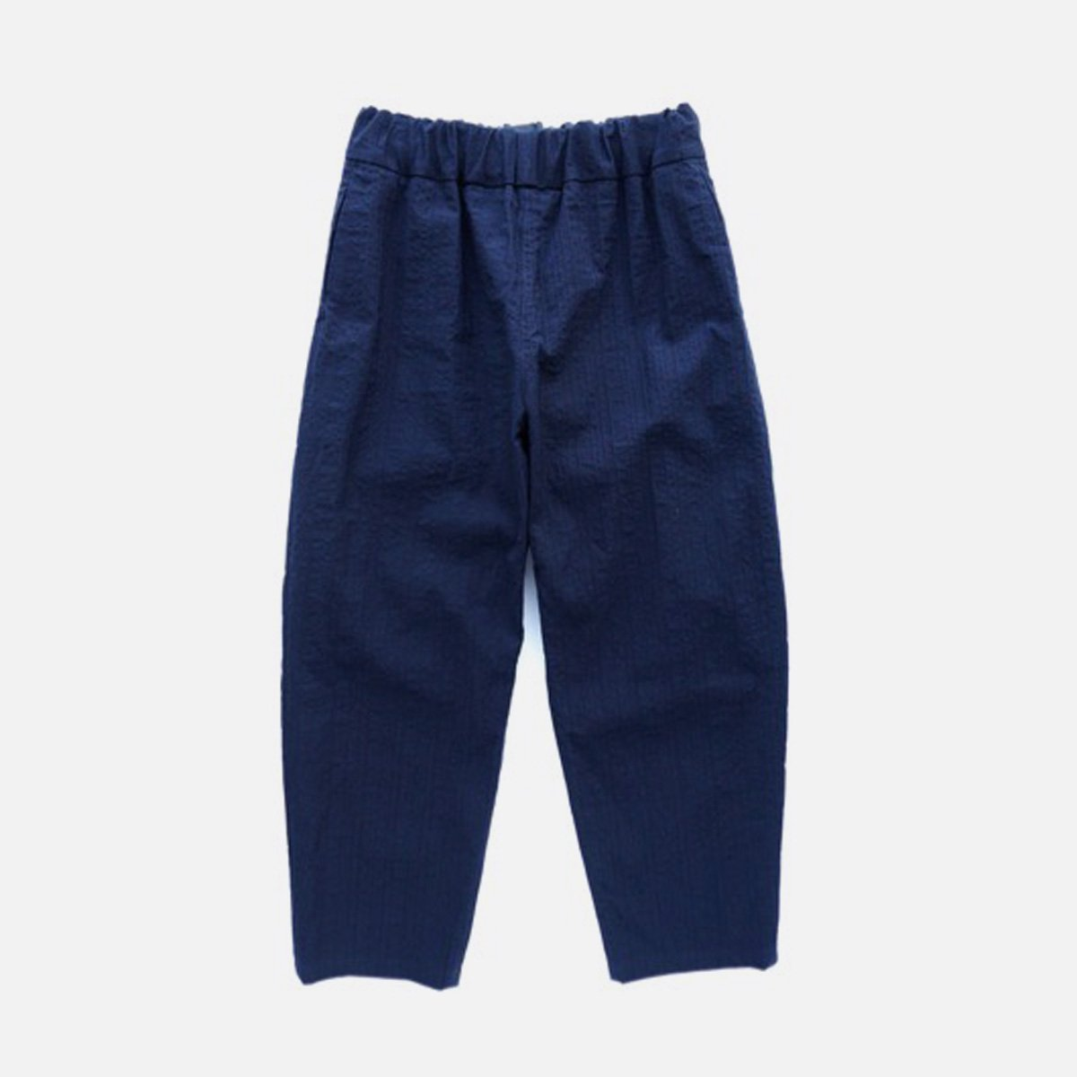NO CONTROL AIR SALT SHRINKING COTTON PONGEE EASY PANT (navy)
