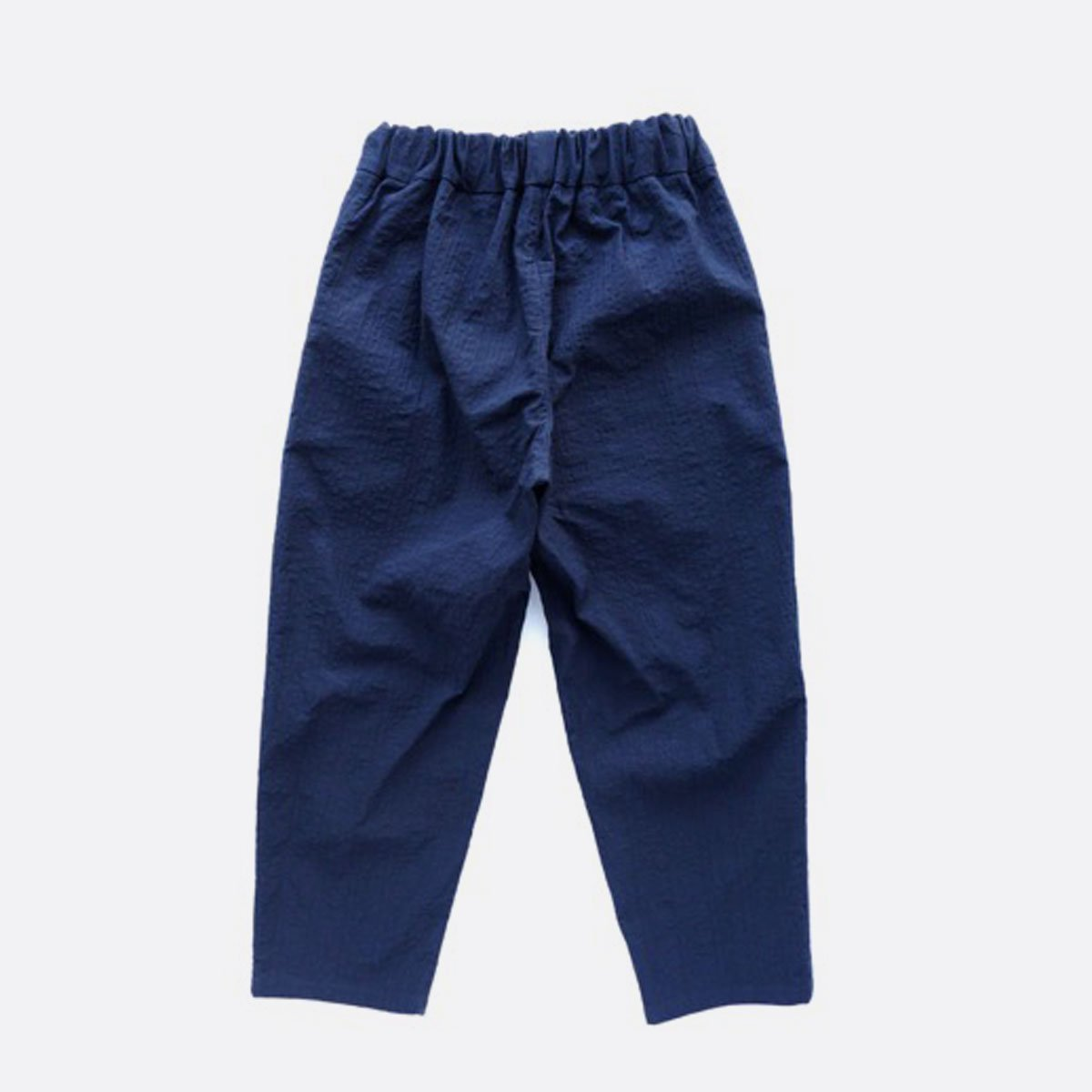 NO CONTROL AIR SALT SHRINKING COTTON PONGEE EASY PANT (navy)2