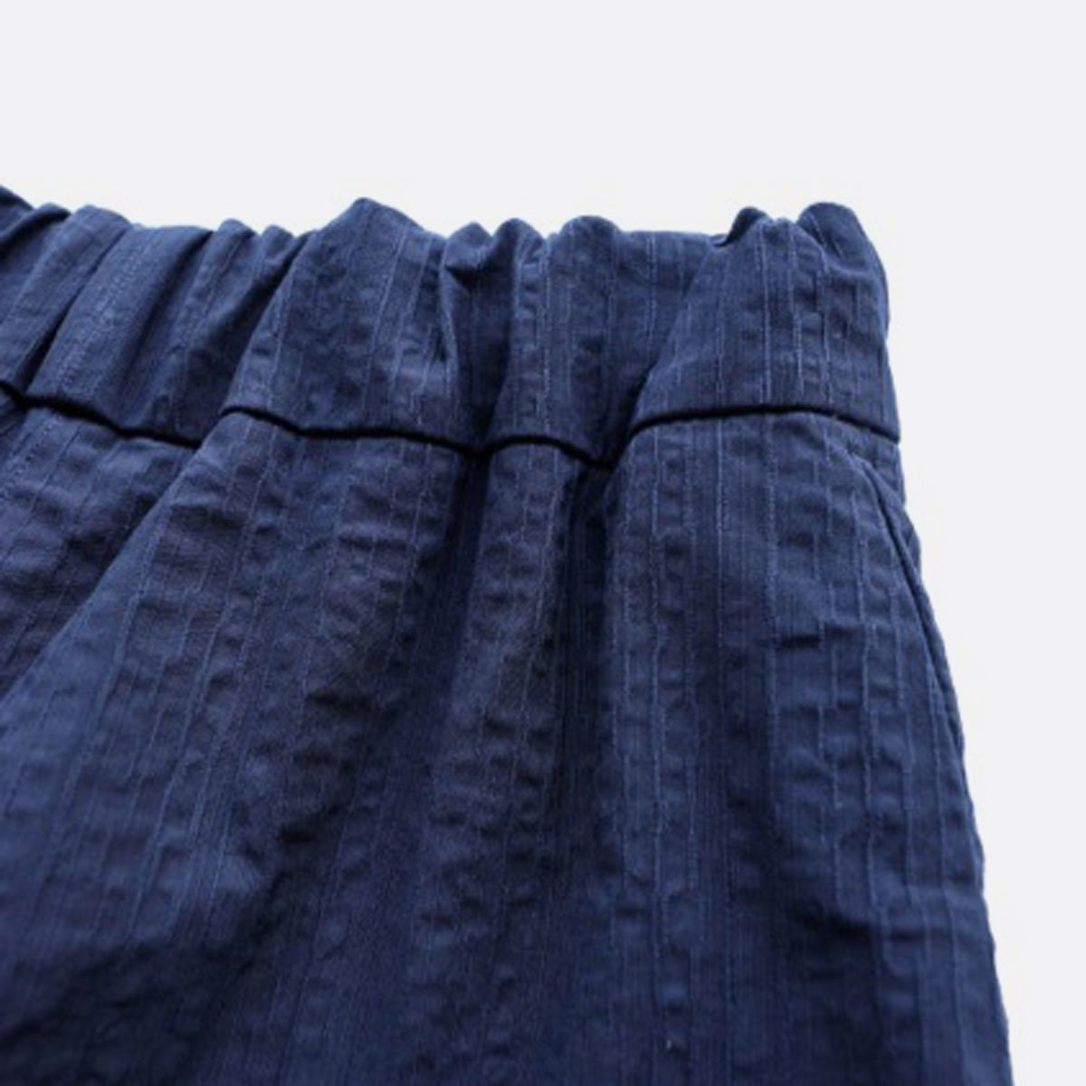 NO CONTROL AIR SALT SHRINKING COTTON PONGEE EASY PANT (navy)4