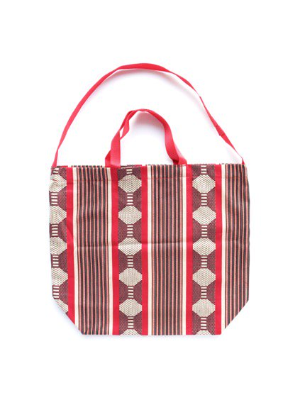 Engineered Garments Carry All Tote -Ethnic Jacquard St. (RED)2