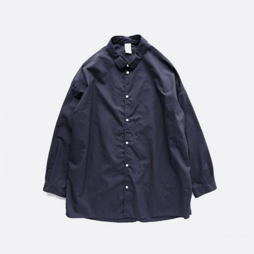 60/1 SUPIMA COTTON TYPEWRITER DROP SHOULDER SHIRT