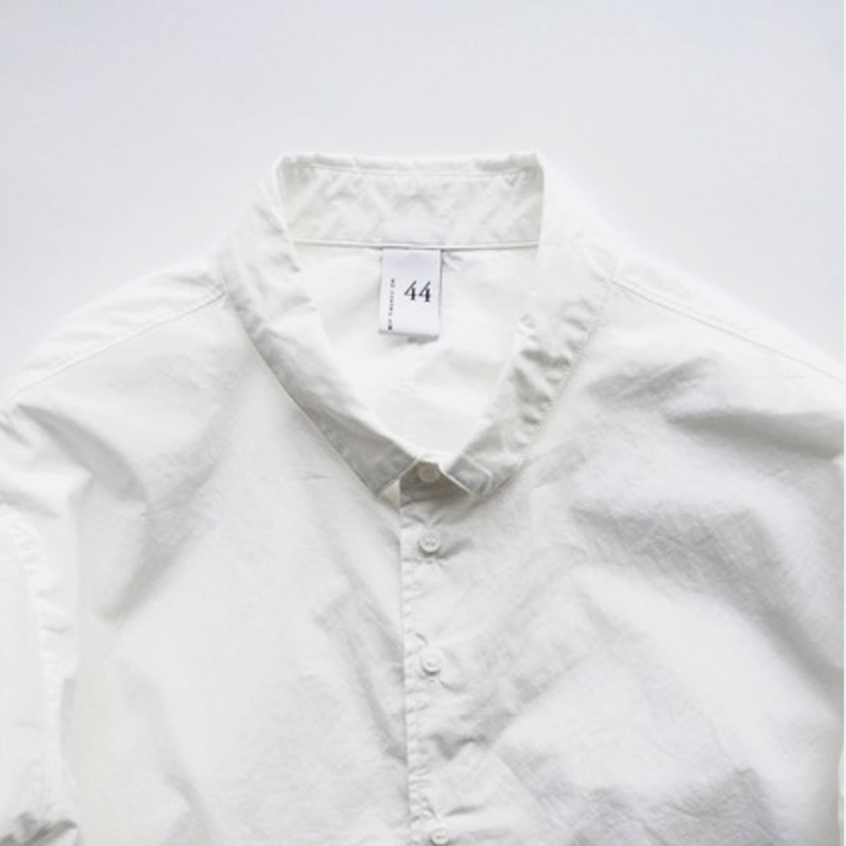 NO CONTROL AIR 60/1 SUPIMA COTTON TYPEWRITER SHIRT (off white)3