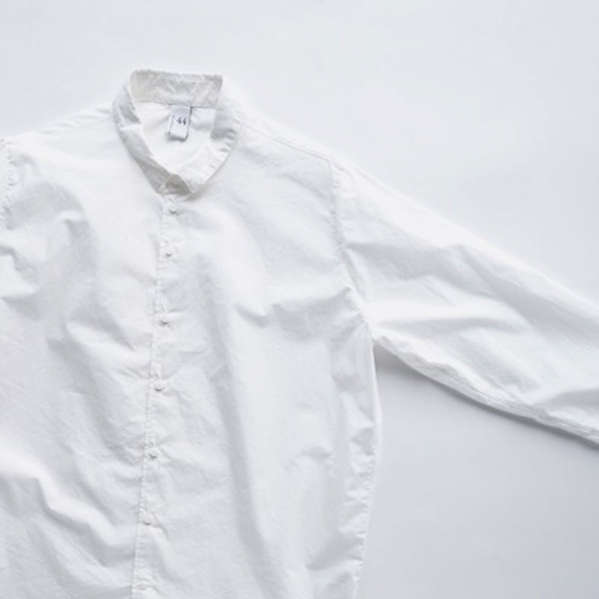 NO CONTROL AIR 60/1 SUPIMA COTTON TYPEWRITER SHIRT (off white)4