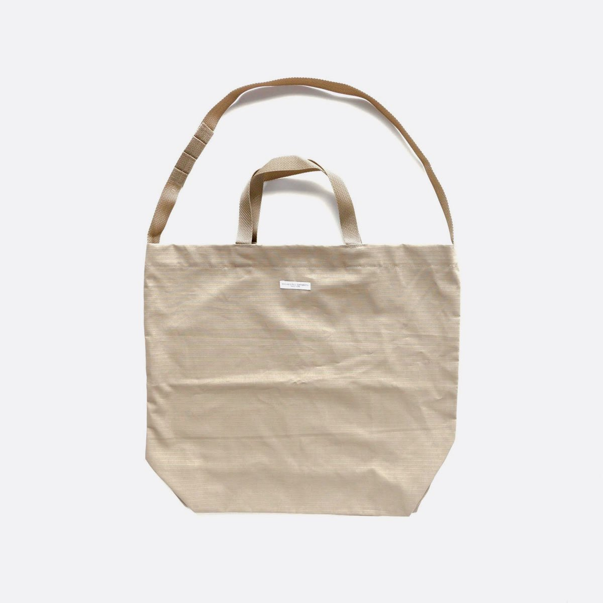 Engineered Garments Carry All Tote -Cotton Ripstop (Khaki)