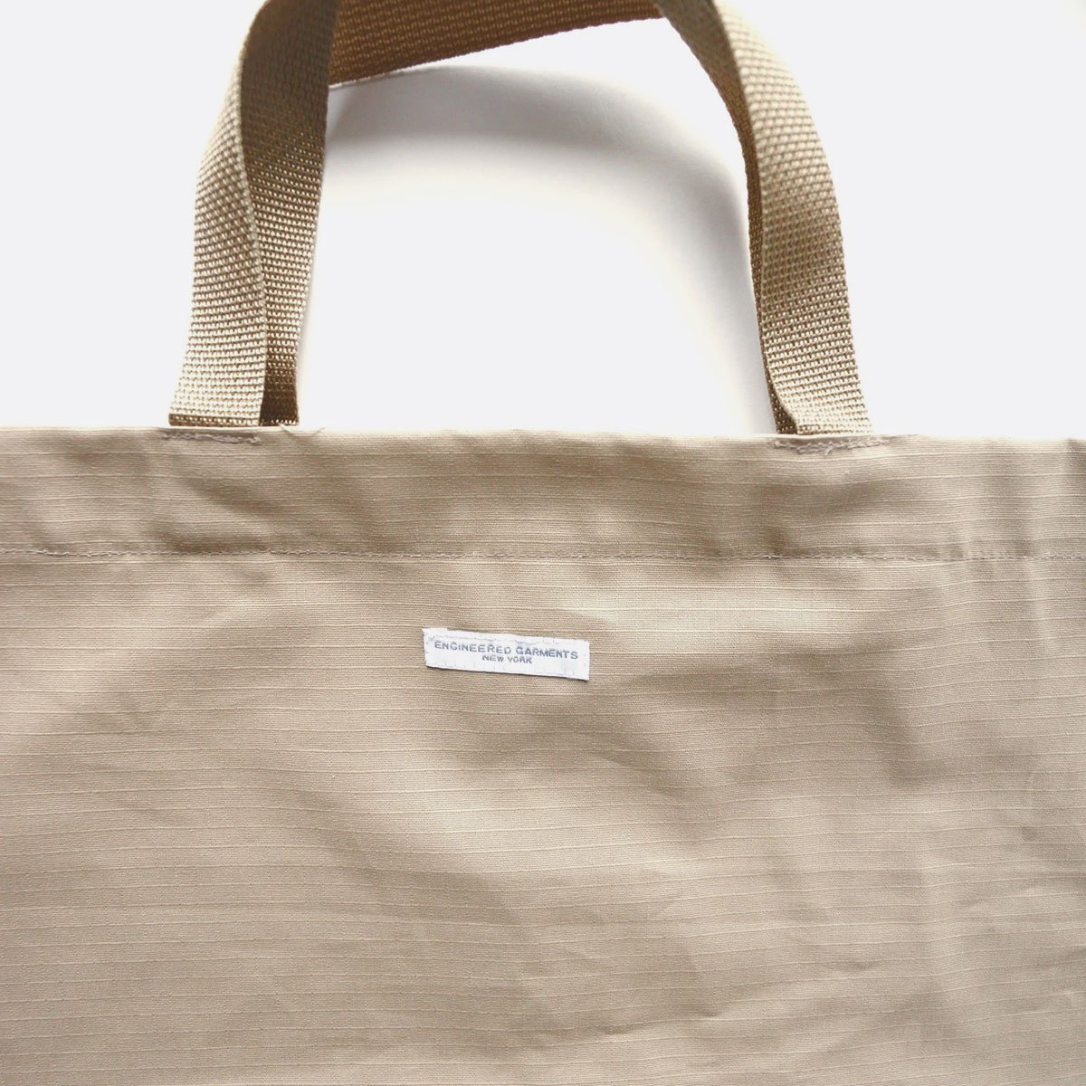Engineered Garments Carry All Tote -Cotton Ripstop (Khaki)3
