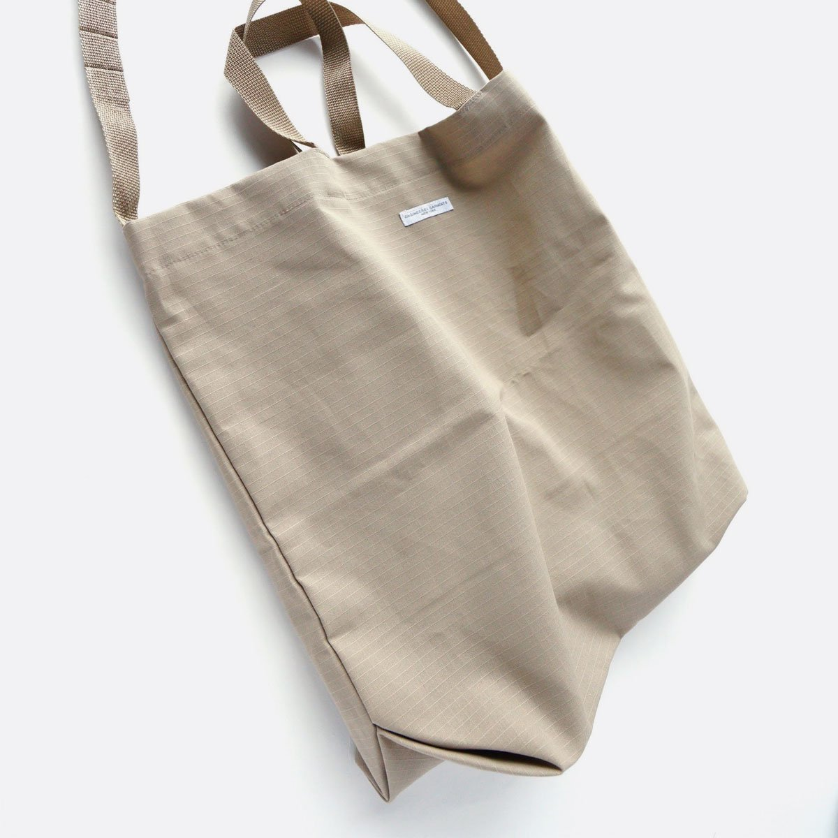 Engineered Garments Carry All Tote -Cotton Ripstop (Khaki)4