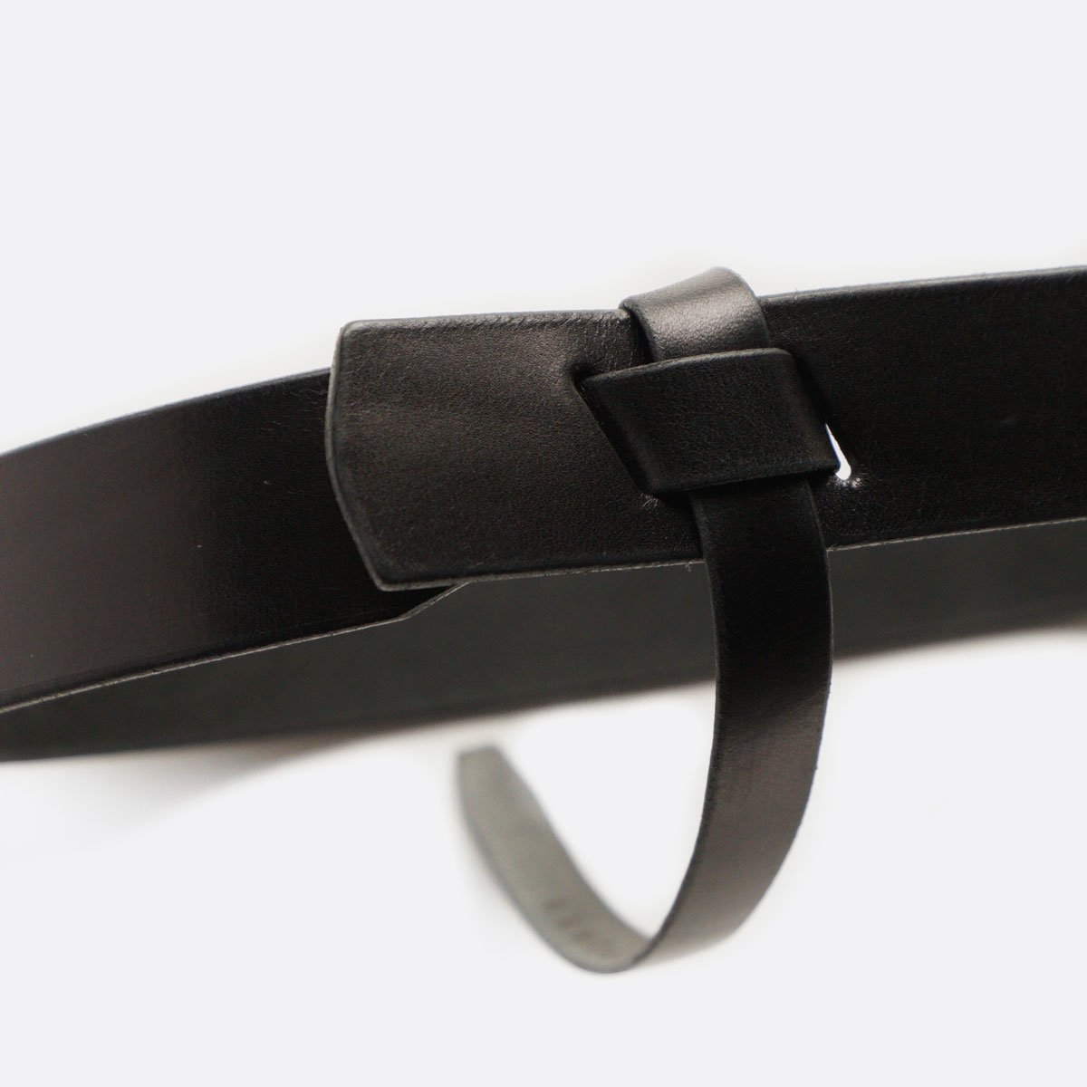 cantate Ribbon Knot Belt (BLACK)2