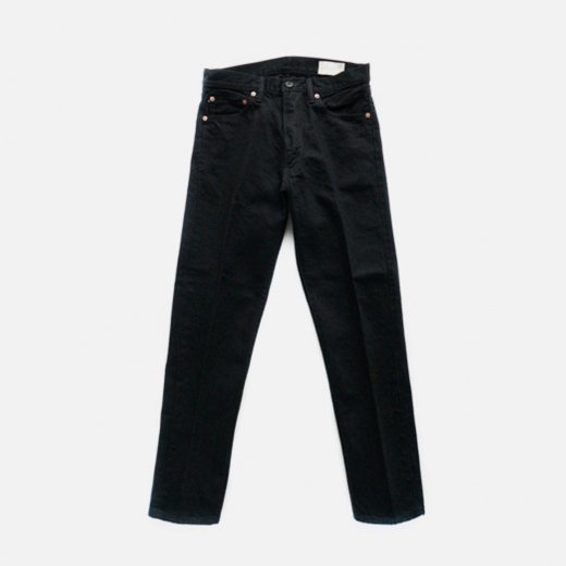 DENIM TAPERED TROUSERS