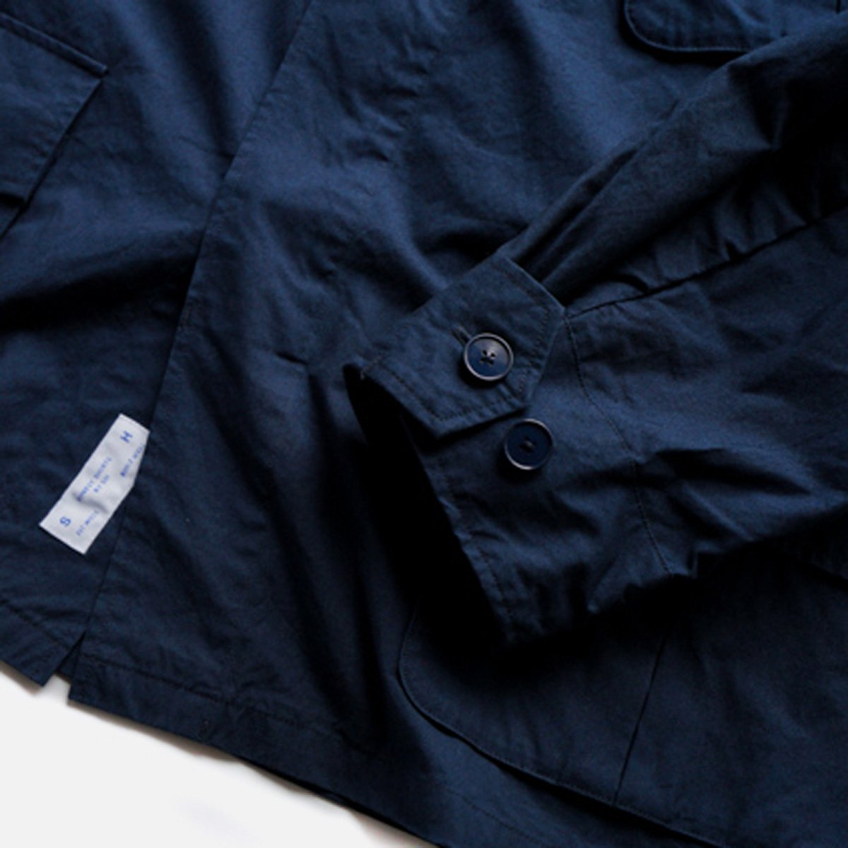 SH  FATIGUE SHIRT  (NAVY)4