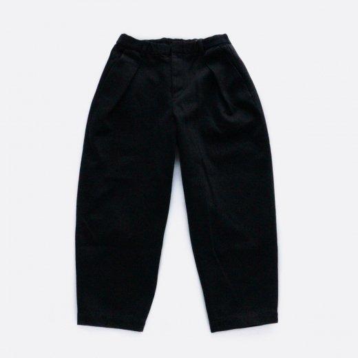HEAVY COTTON KERSEY W-TUCK PANTS