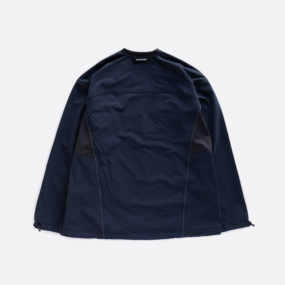 and wander trek pullover  (navy)2