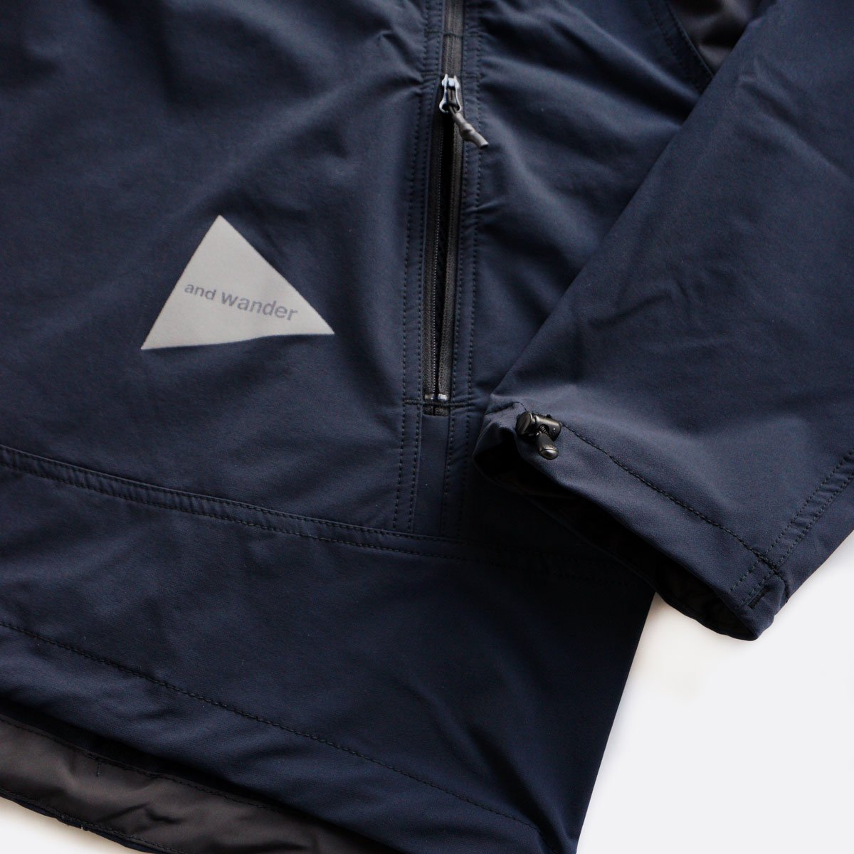 and wander trek pullover  (navy)4