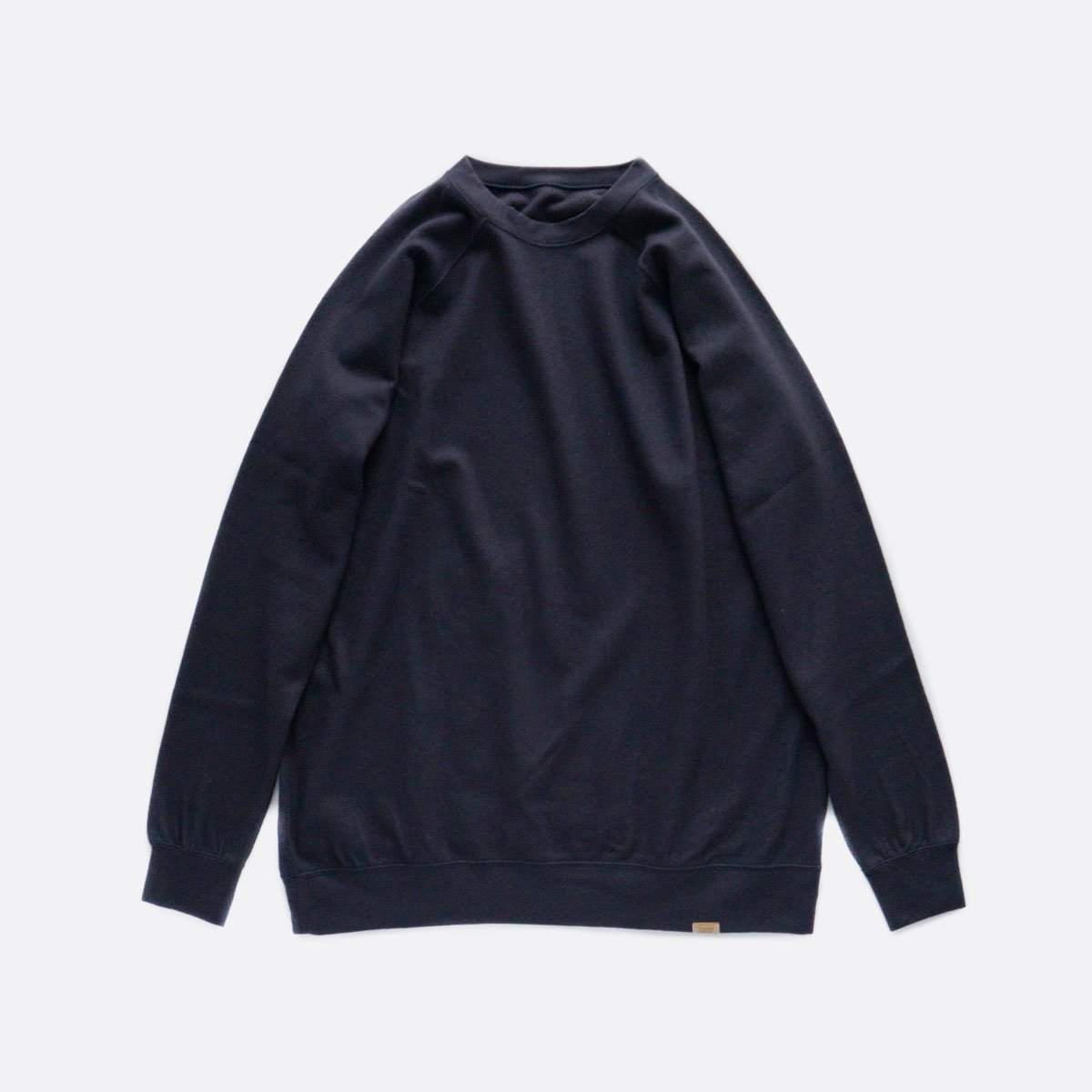 COLINA Super140s Washable Wool Sweat M/W (D/NAVY)