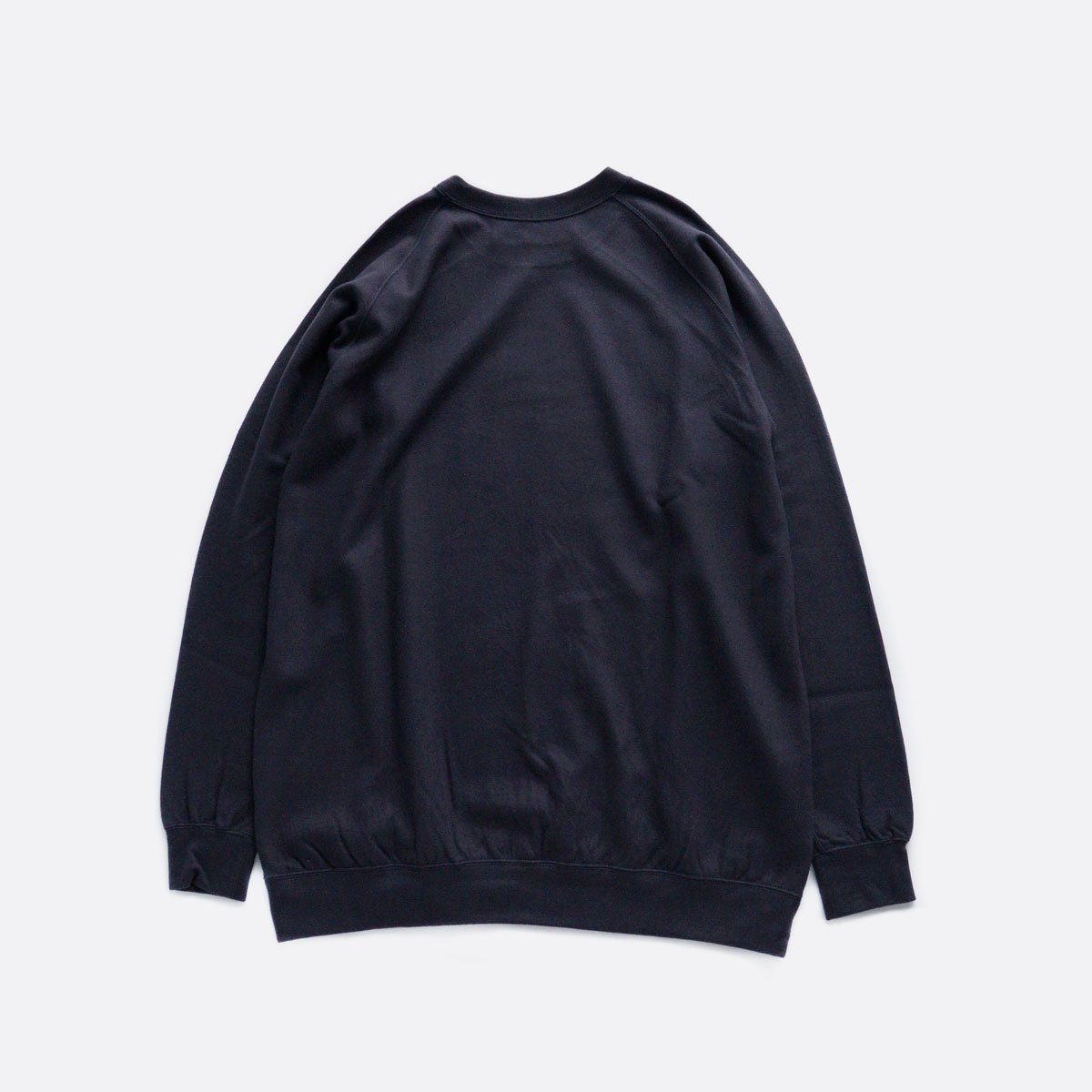 COLINA Super140s Washable Wool Sweat M/W (D/NAVY)2