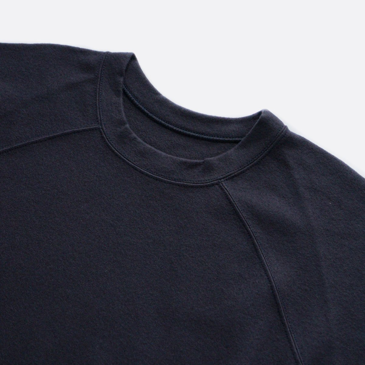COLINA Super140s Washable Wool Sweat M/W (D/NAVY)3