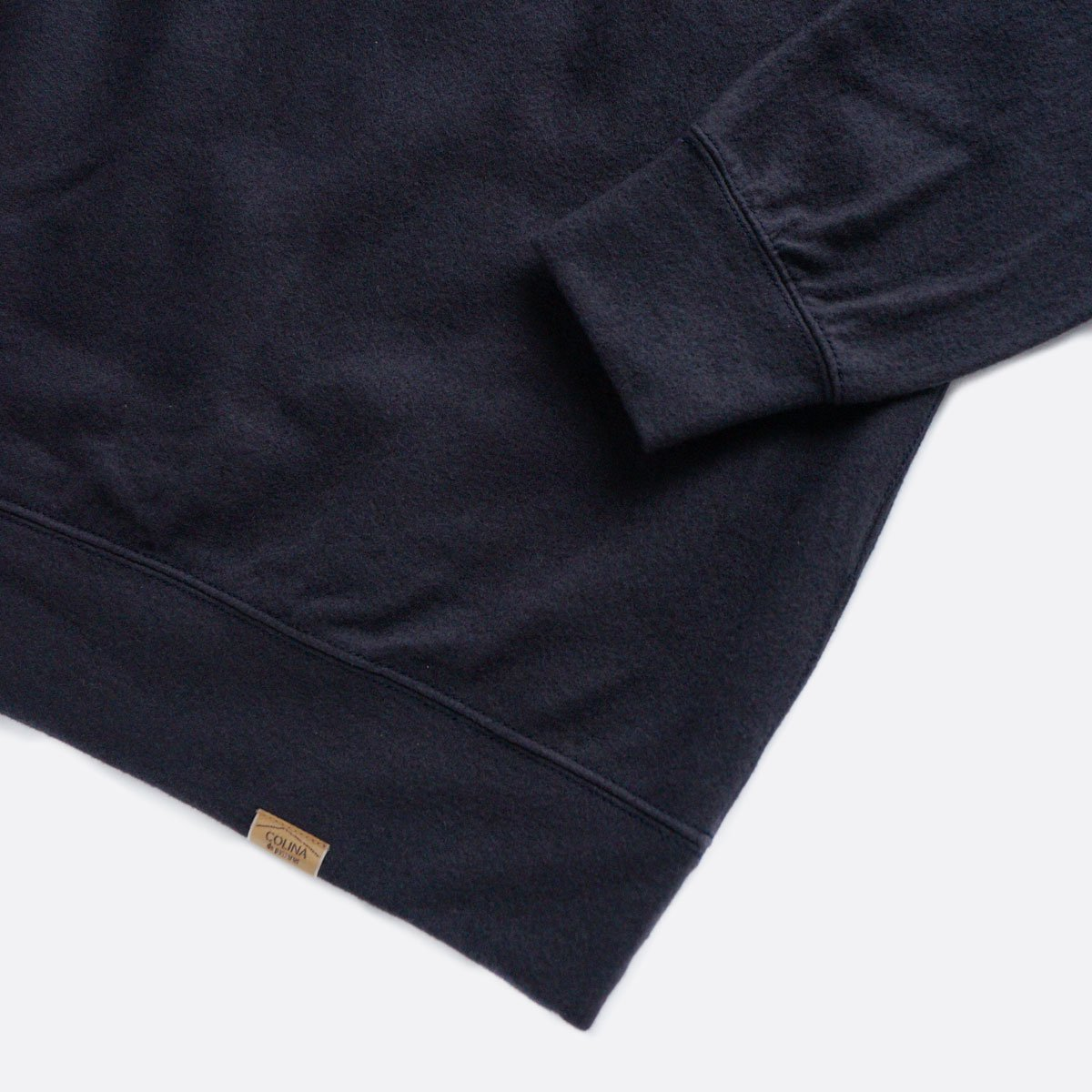 COLINA Super140s Washable Wool Sweat M/W (D/NAVY)4