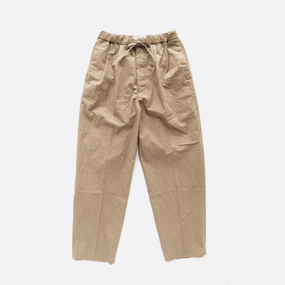 ENDS & MEANS RELAX FIT TROUSERS  (KHAKI)