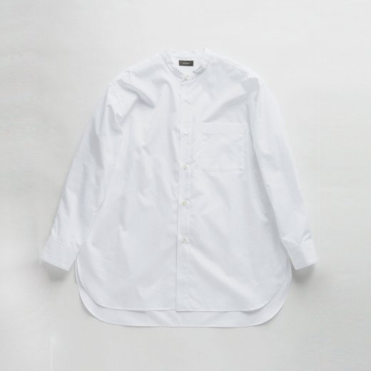 LONG STAND COLLAR SHIRT