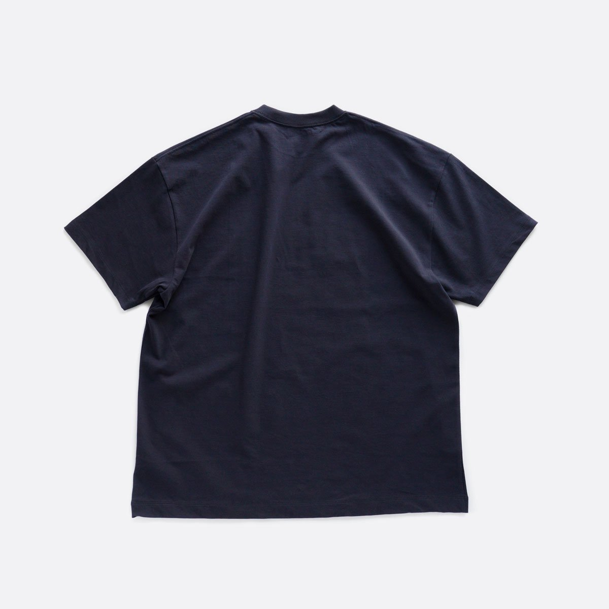 ATON FRESCA PLATE OVERSIZED T-SHIRT (NAVY)2