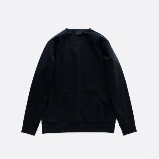 30/- フリーカット強撚 ポンチ・ロングスリーブTシャツ