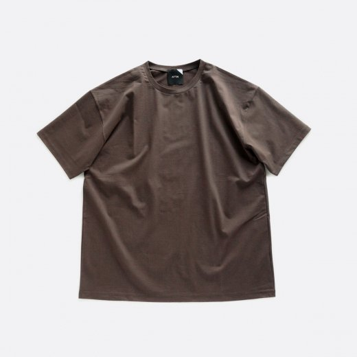 NUBACK COTTON OVERSIZED T-SHIRT