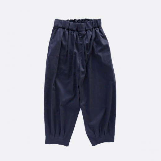 <img class='new_mark_img1' src='https://img.shop-pro.jp/img/new/icons1.gif' style='border:none;display:inline;margin:0px;padding:0px;width:auto;' />HIGH TWISTED POLYESTER & LINEN TROPICAL EASY TUCK PANTS