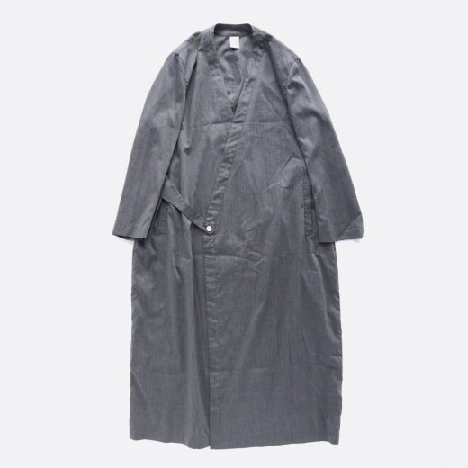 <img class='new_mark_img1' src='//img.shop-pro.jp/img/new/icons39.gif' style='border:none;display:inline;margin:0px;padding:0px;width:auto;' />HIGH TWISTED POLYESTER & LINEN TROPICAL COAT