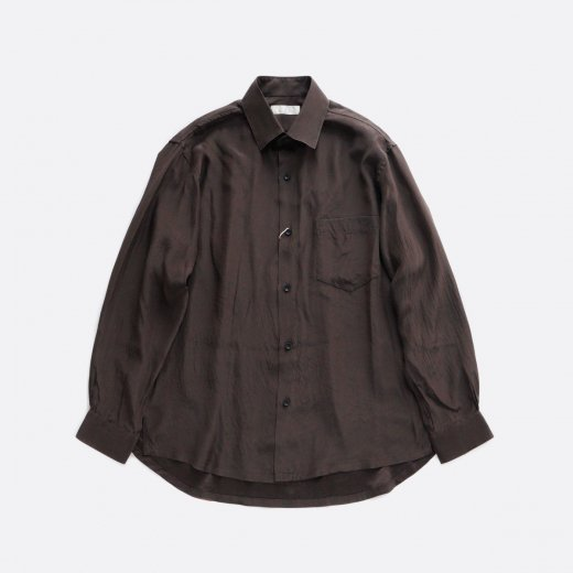 SILK BACK SATIN WIDE SHIRTS
