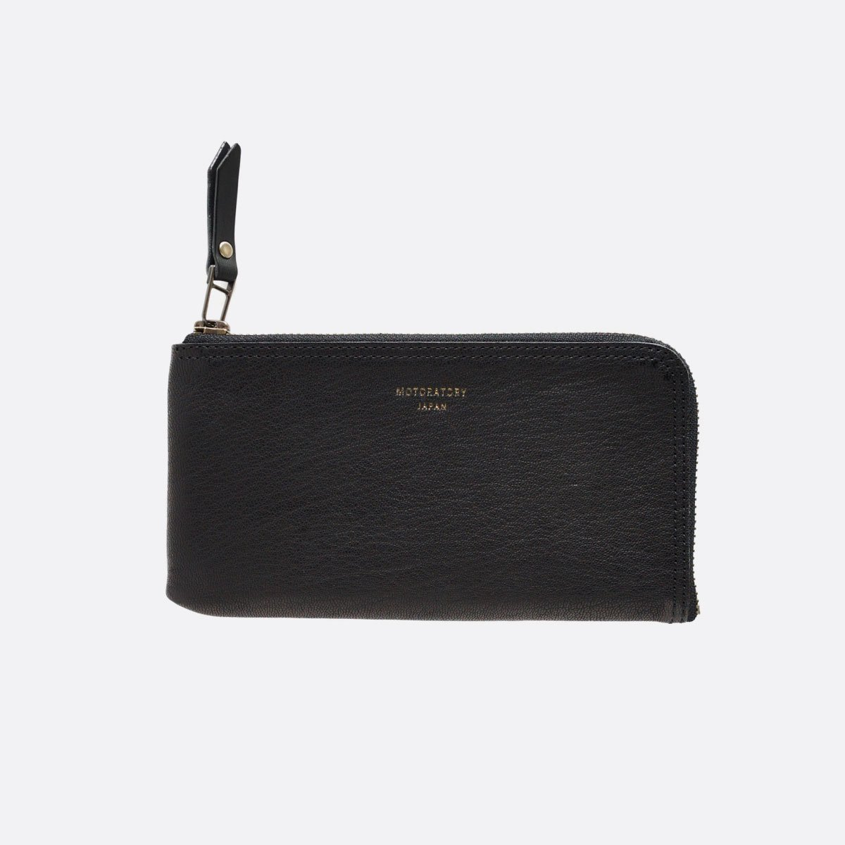MOTO GOAT LEATHER WALLET Y003  (BLACK)