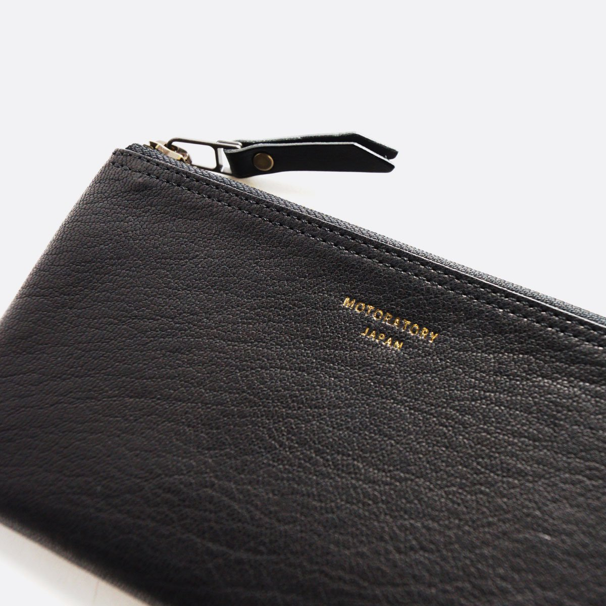 MOTO GOAT LEATHER WALLET Y003  (BLACK)2