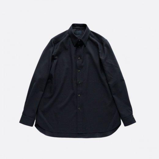 ノーミュールシング・シルクウールシャツ