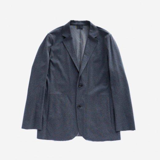 フリーカット強撚ポンチ・テーラードジャケット