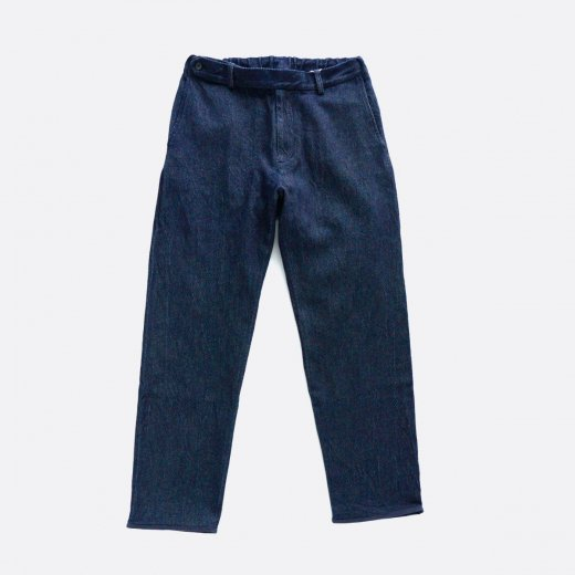 -20AW先行受注- DRILL DENIM SLACKS