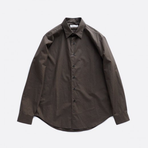 -20AW先行受注- SUPIMA COTTON POPLIN MINIMAL SHIRTS