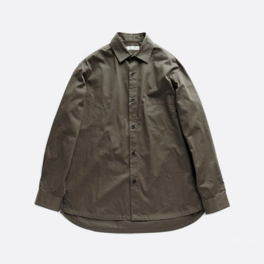 -20AW先行受注- ORGANIC COTTON WIDE SHIRTS