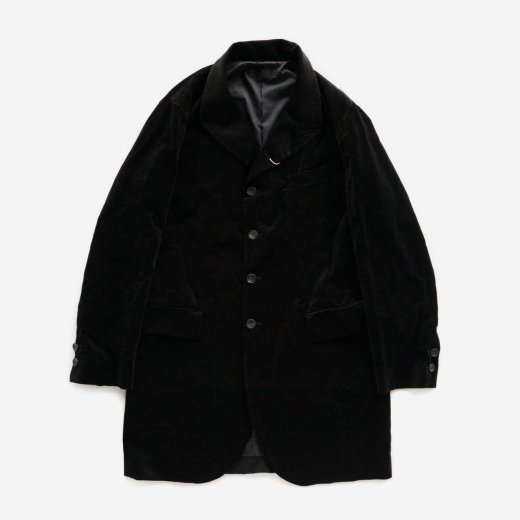 VELVETEEN LONG JACKET