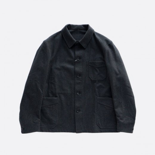 -20AW先行受注- Super140s Wool Coverall Jacket