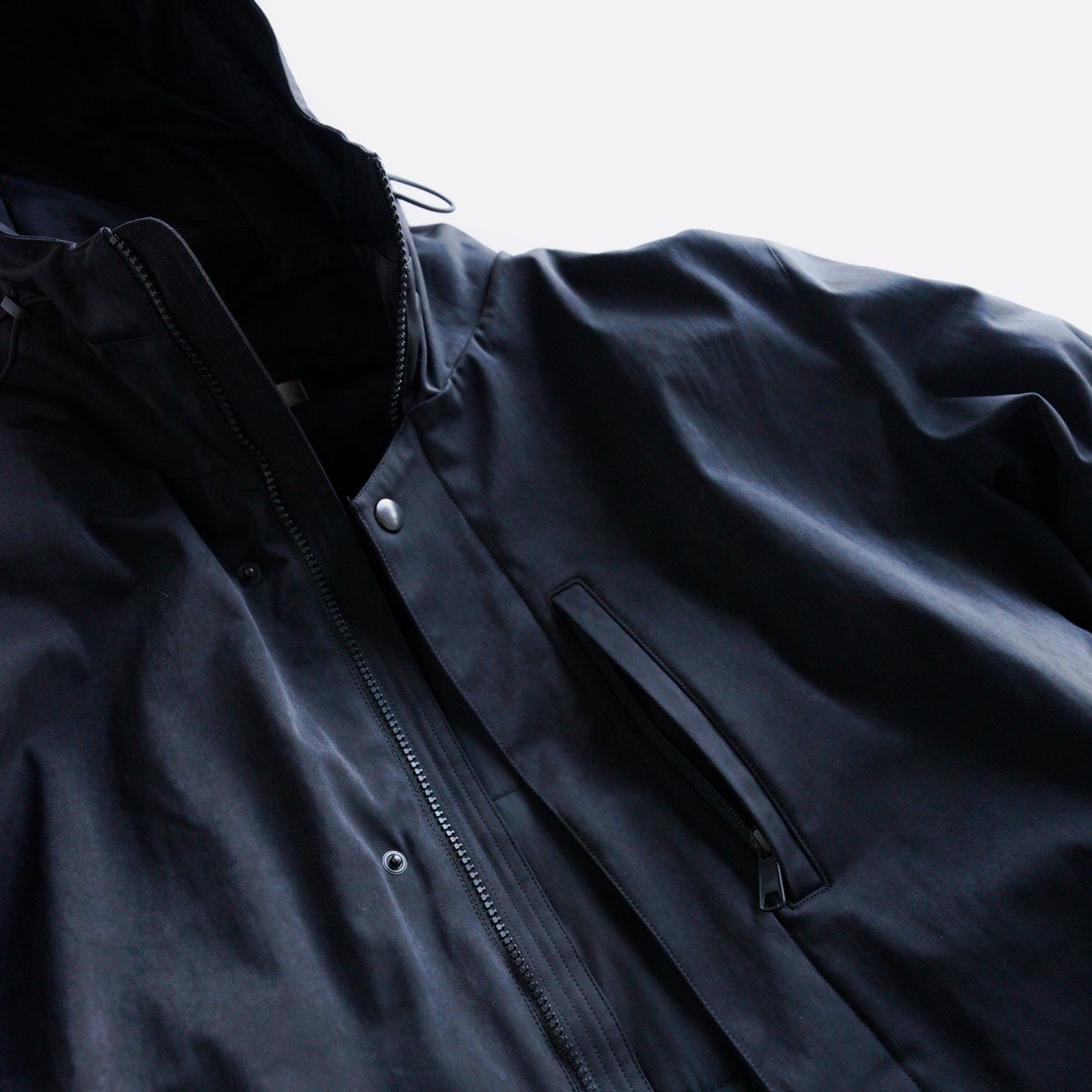 -20AW先行受注- HIGHDENSITY MILICLOTH FOODIE JACKET 4