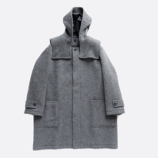 -20AW先行受注-  SUPERFINE ALPACA DETACHABLE DUFFLE COAT