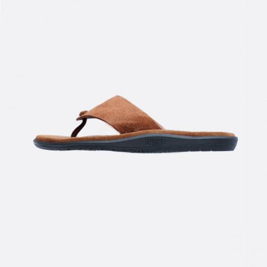 SUEDE TONG SANDALS